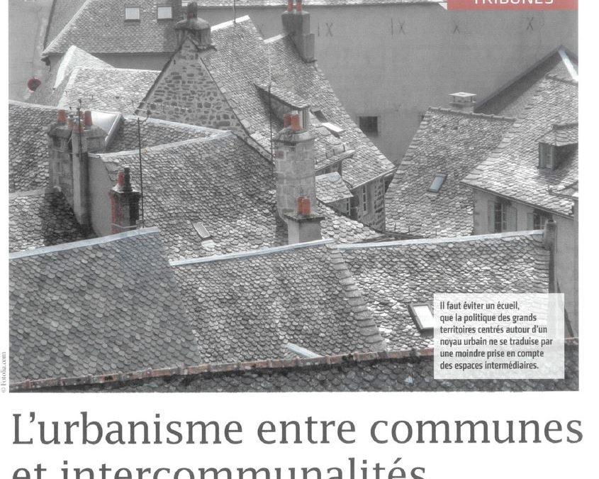 L'urbanisme entre communes et intercommunalités – Ingénierie territoriale – Décembre 2017/Janvier 2018 – n°31