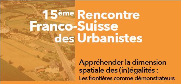 15e rencontre Franco-Suisse : contributions