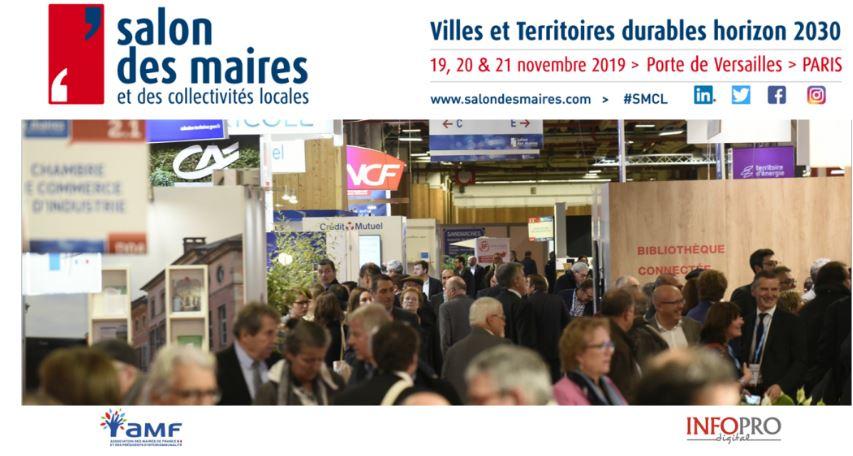 Salon des maires et des collectivités locales – intervention de B. Lensel – 20/11/2019