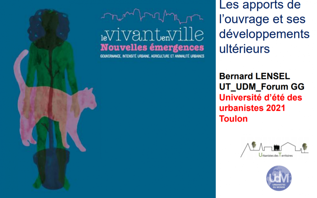 Participation à l'Université d'été de Toulon (26 août 2021)